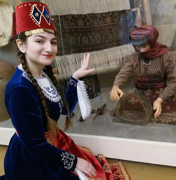Ансамбль Армстайл на выставке Этнопарк