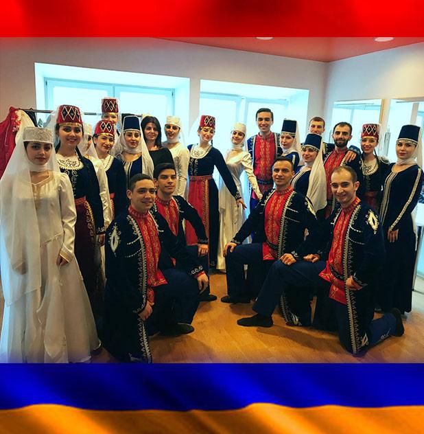 международном конкурсе армянских народных танцев