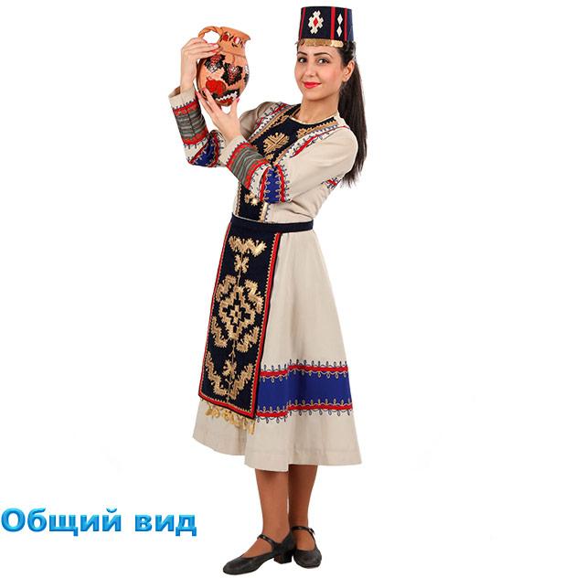 Костюм Кочари женский. Общий вид