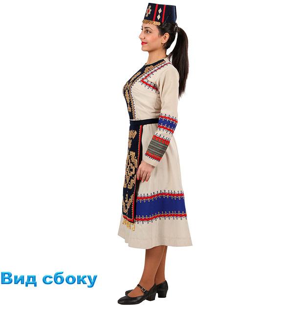 Костюм Кочари женский. Вид сбоку
